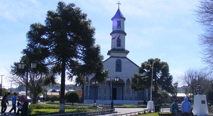 Iglesia Nuestra Señora de Dolores en Dalcahue