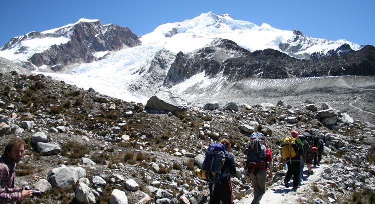 Huayna Potosí en La Paz