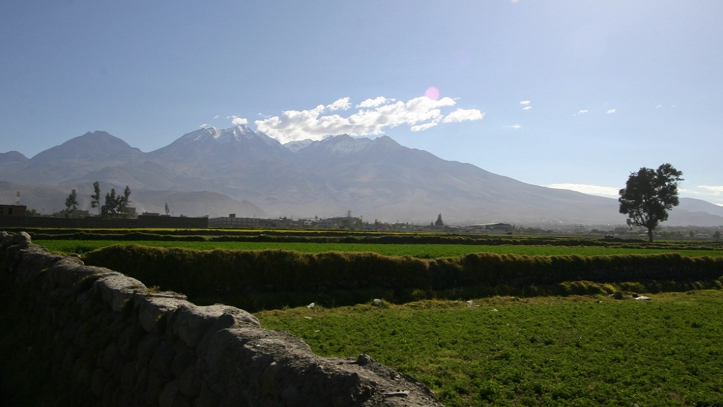 Volcán Chachani Arequipa