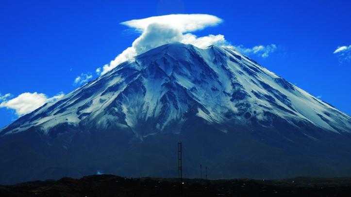 Subida Vulcão Misti