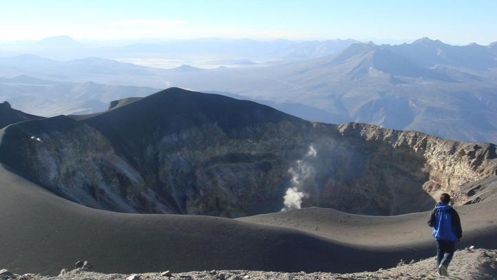 Crater Volcan Misti