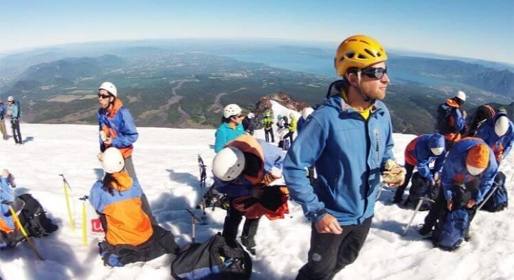 Cumbre Volcán Villarrica