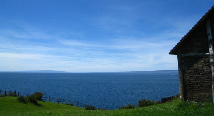 Fuerte Bulnes en el Estrecho de Magallanes