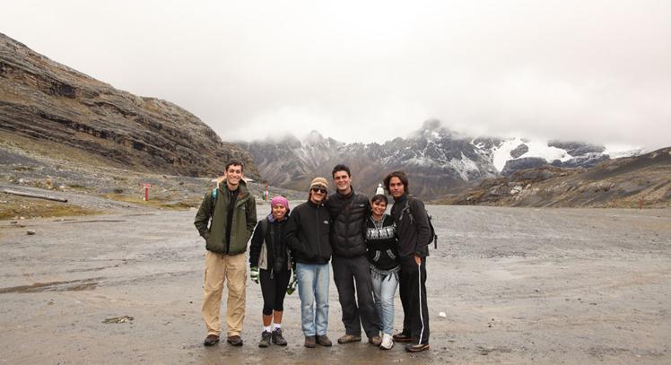 Pie del Nevado Pastoruri