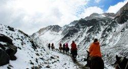 Horseback Riding El Morado Glacier and Hot Springs