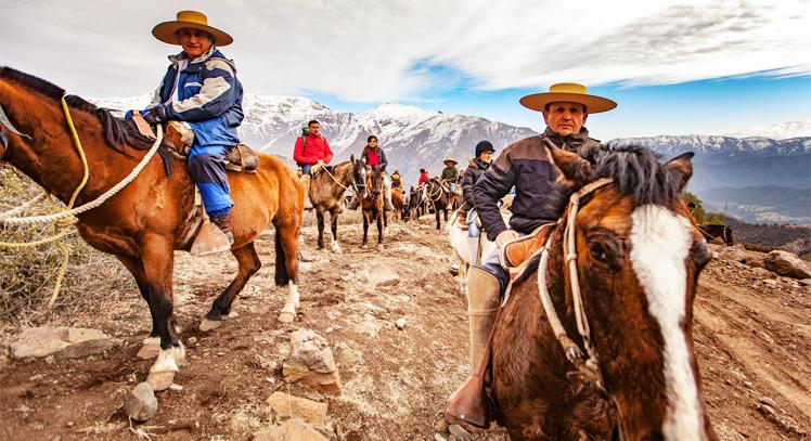 Cabalgata por Los Andes