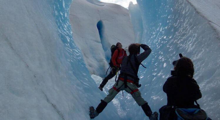 Dentro Glaciar Grey Hike