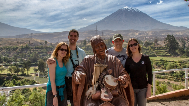 Landscape of Arequipa