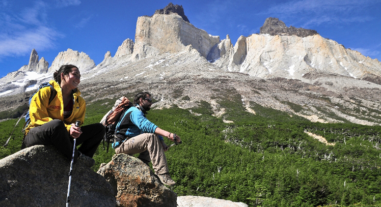Circuito W Torres Del Paine Mapa : Circuito o paine grande torres del paine