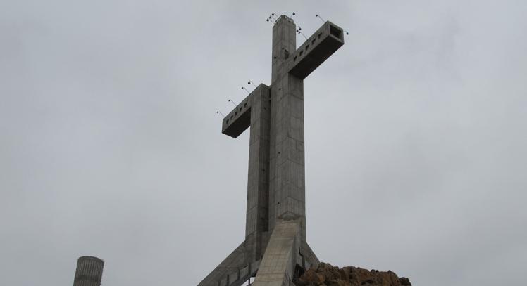 Cruz del Tercer Milenio en Coquimbo