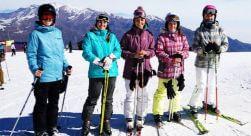 Día de Ski Principiante La Parva