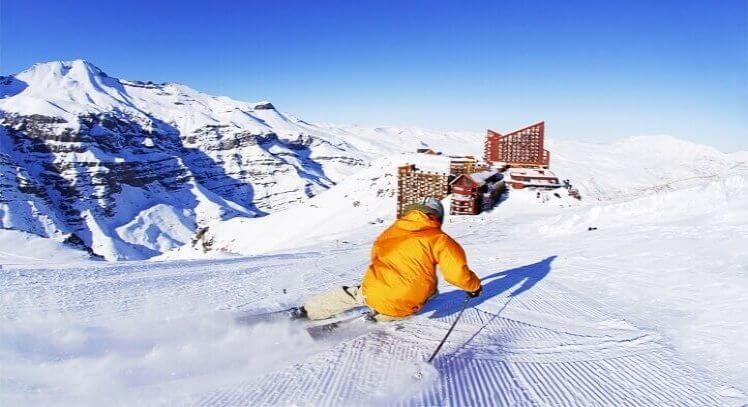 Tour Esqui em Valle Nevado Chile