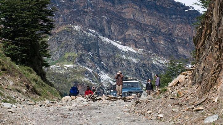 Off-road em Ushuaia