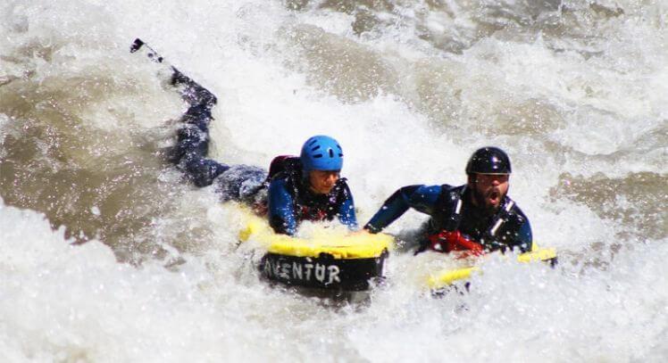 Hidrospeed río Liucura