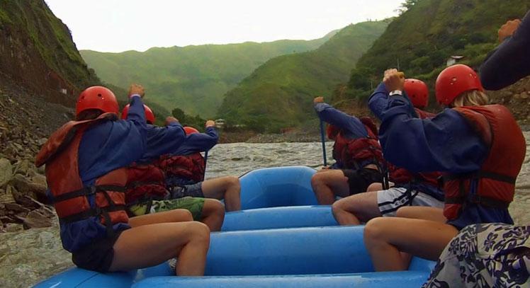 Rafting en Inca Jungle