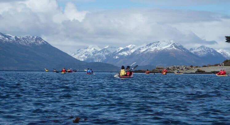 Kayak Estrecho de Magallanes