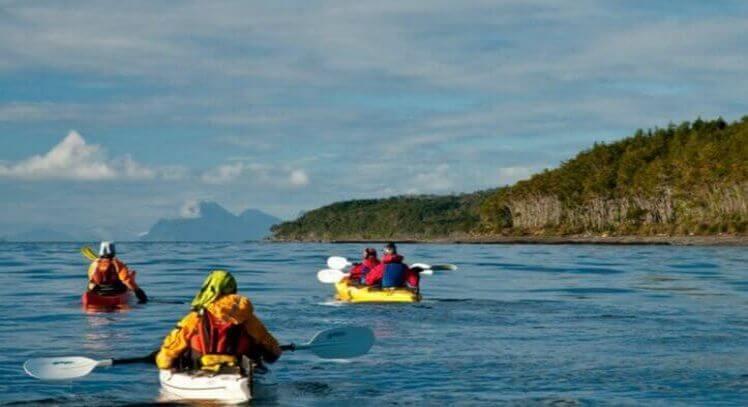 Kayaking Patagonia