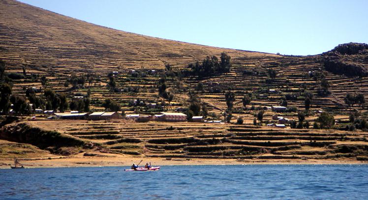 Kayak en Amantaní