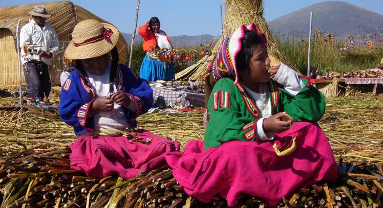 Uros en Puno