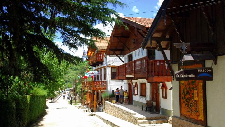 Peatonal La Cumbrecita