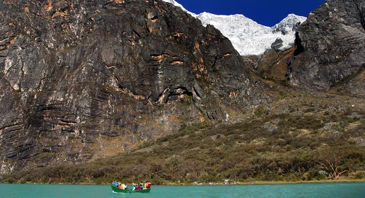 Laguna Llanganuco en Huaraz