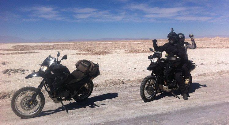 Motorbike Salar de Atacama