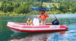 Paseo en Lancha en Lago Villarrica