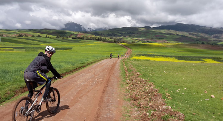 Písac y Calca en Bicicleta