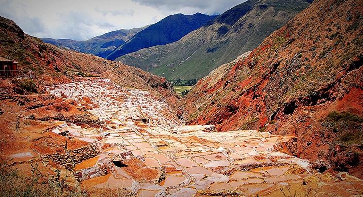 Minas de sal de Maras en Valle Sagrado