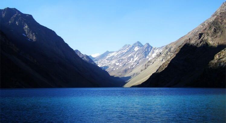 Laguna del Inca en verano