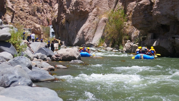 Rafting Valle de Chilina