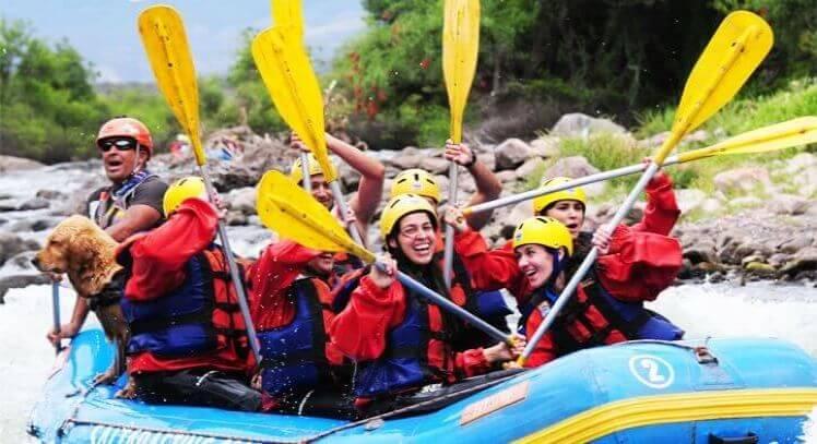 Rafting Río Juramento