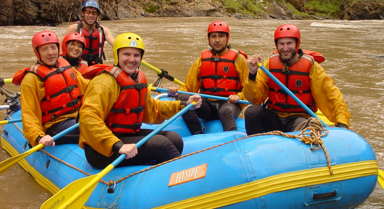 Rafting Río Vilcanota