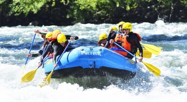 Rafting en Pucón