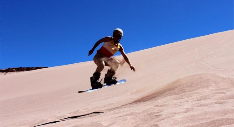 Sandboard San Pedro Atacama