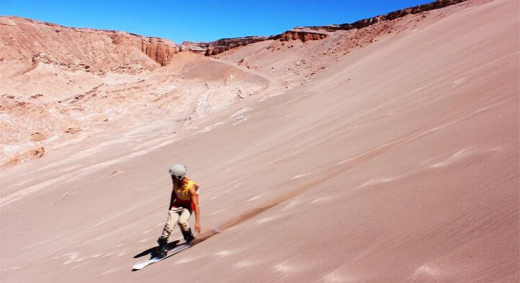 Sandboard Valle De La Muerte