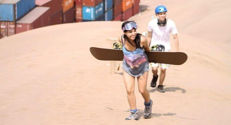 Sandboard Iquique