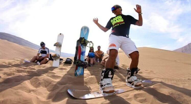Sandboarding Iquique