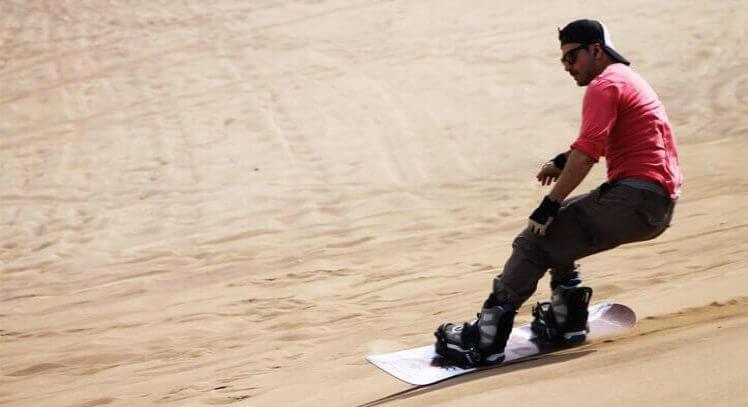 Tabla de Sandboard Iquique