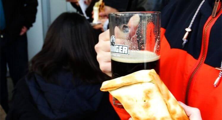 Empanada y cerveza con PickandBook.me