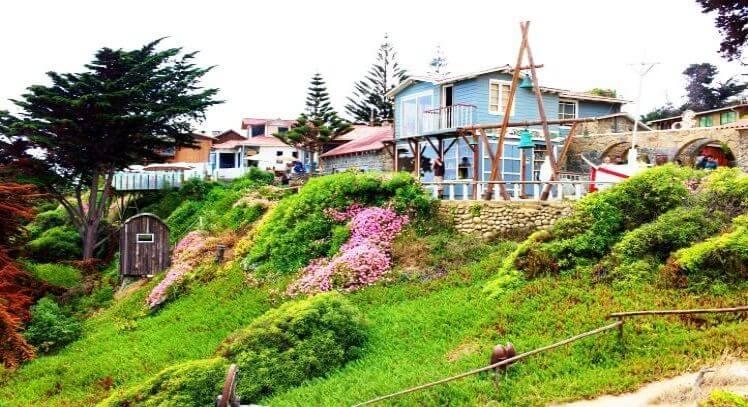 Casa de Pablo Neruda en Isla Negra