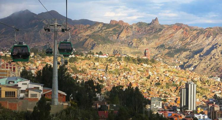 Teleférico entre La Paz y El Alto