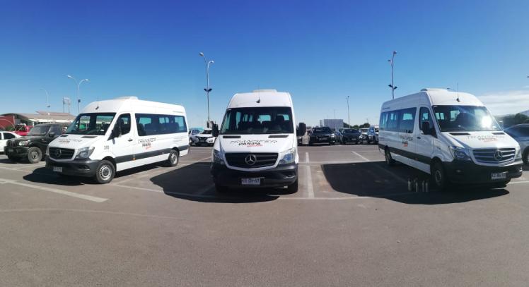 Transporte a San Pedro de Atacama