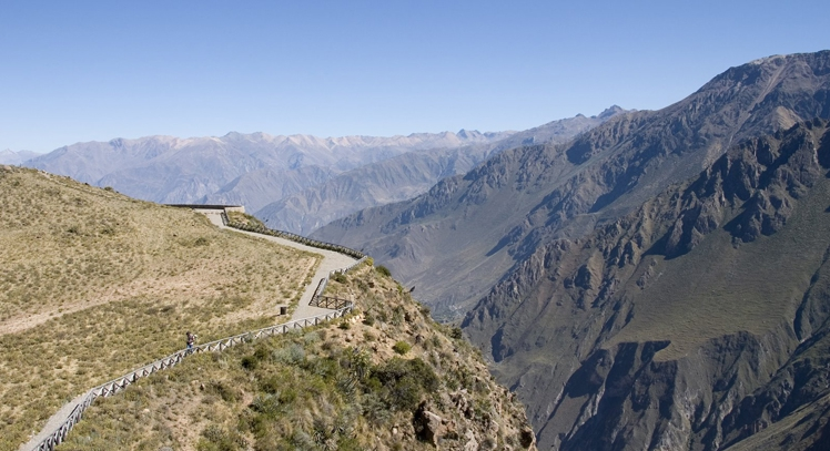 Cañón del Colca desde Arequipa