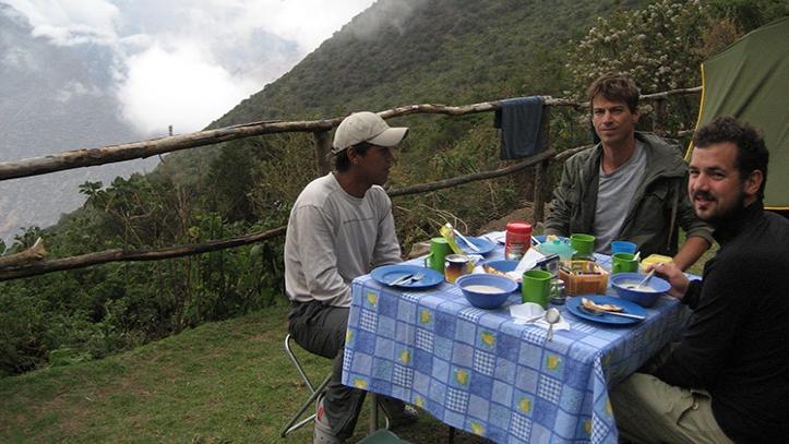 Desayuno Choquequirao trek