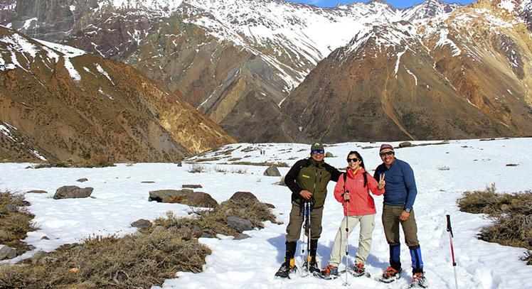 Caminata Nieve Cajón del Maipo