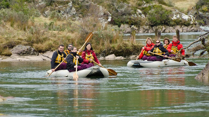 Excursion Canoas Ushuaia