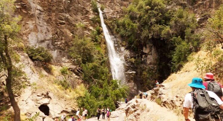 Cascada en Santiago